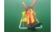 Underwater robot rescues people  drowning in pools and lakes