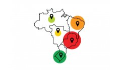 Epicenter of the virus, Brazil has a positive percentage 6 times above the target
