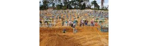 Brazil has more deaths  Covid in 1 week than USA, Mexico, Italy and Russia combined