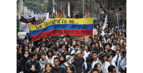 UN: Reports of police violence against demonstrators in Colombia increase