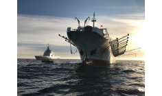 Chinese fishing boats turn off radars and operate illegally in Argentina