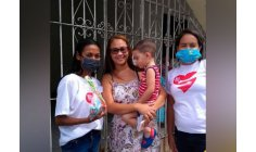 'I love my neighbor': action helps children who lost parents in the pandemic
