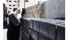Women engineers use debris  the war in Gaza to make bricks that help rebuild the region