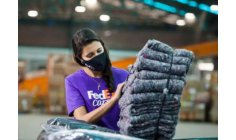 FedEx turns employee uniforms into blankets for the needy