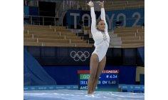 "Olympics: Brazilian gymnast performs to the sound of ""Baile de Favela"""