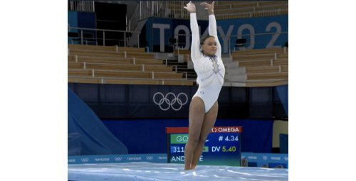 Rebeca is silver and makes history in Olympic gymnastics in Tokyo