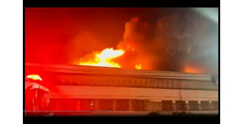 Fire that hit the Cinemateca Brasileira's shed is controlled